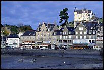 Waterfront of Cancale. Brittany, France
