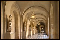 Versailles Palace corridor. France ( color)