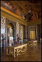 Versailles Palace room. France ( color)