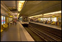 Franklin Roosevelt subway station. Paris, France ( color)