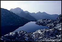 Lake in early winter in, Mercantour National Park. Maritime Alps, France ( color)