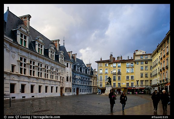 Place St Andre. Grenoble, France