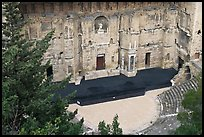 Roman Theater. Provence, France (color)