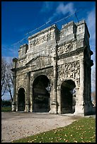 Triumphal arch, Orange. Provence, France ( color)
