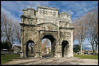 Ancient Roman arch, Orange. Provence, France ( color)