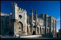 Palace of the Popes. Avignon, Provence, France