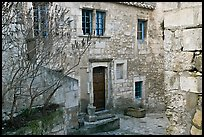 Stone townhouse, Les Baux-de-Provence. Provence, France ( color)