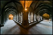 Galleries, Saint Trophimus cloister. Arles, Provence, France ( color)