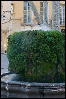 Fountain, Cours Mirabeau. Aix-en-Provence, France ( color)