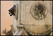 Fountain detail. Aix-en-Provence, France ( color)