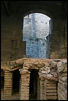 Detail of Roman Bath. Arles, Provence, France ( color)