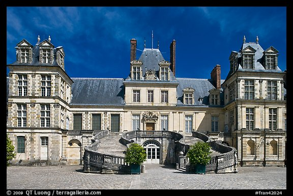 Palace of Fontainebleau. France