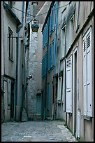 Alley, Chartres. France ( color)