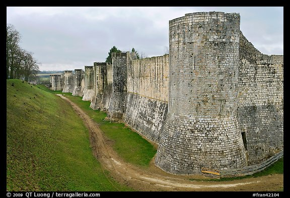 Ramparts, Provins. France