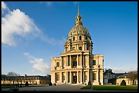 Hotel des Invalides, late afternoon. Paris, France ( color)