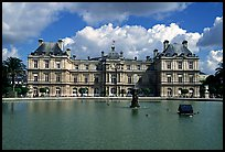 Palais du Luxembourg. Quartier Latin, Paris, France ( color)