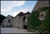 Fontenay Abbey. Burgundy, France