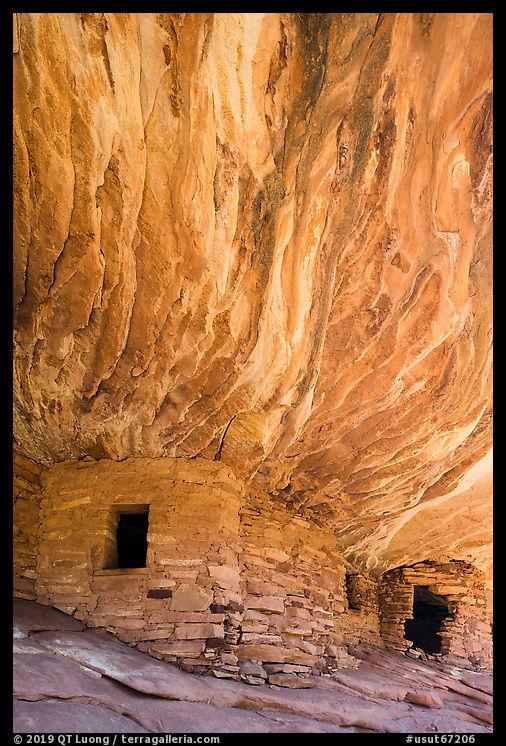 Flame Ceiling Ruin. Bears Ears National Monument, Utah, USA