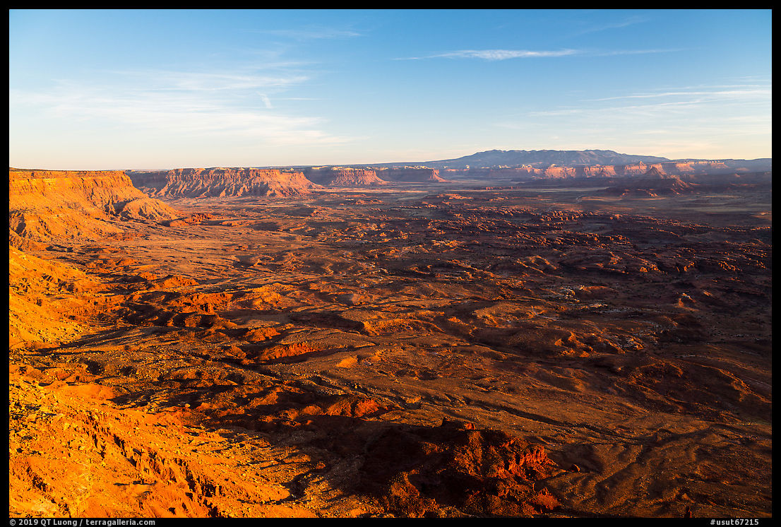 Indian Creek and Needles from Needles Overlook. Bears Ears National Monument, Utah, USA
