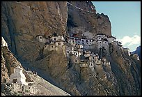 Phuktal gompa, Zanskar, Jammu and Kashmir. India ( color)