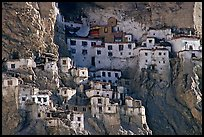 Phugtal gompa, Zanskar, Jammu and Kashmir. India ( color)