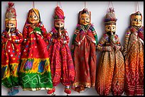 Puppets for sale, Chatta Chowk, Red Fort. New Delhi, India