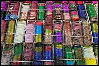 Bangles for sale. Jodhpur, Rajasthan, India ( color)