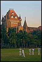 Cricket players and high court. Mumbai, Maharashtra, India ( color)