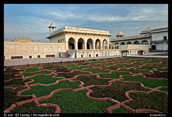 Picture Photo Mughal Garden Agra Fort Agra Uttar