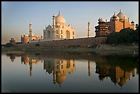Jawab, Taj Mahal, and Taj Mahal mosque. Agra, Uttar Pradesh, India ( color)