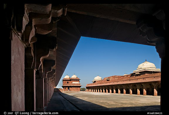 Lower Haramsara. Fatehpur Sikri, Uttar Pradesh, India