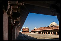 Lower Haramsara. Fatehpur Sikri, Uttar Pradesh, India ( color)