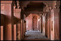 Corridor. Fatehpur Sikri, Uttar Pradesh, India ( color)