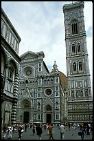 Campanile tower and Duomo. Florence, Tuscany, Italy
