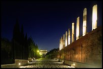 Via Sacra at night. Rome, Lazio, Italy ( color)