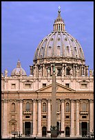 Basilic Saint Peter, catholicism's most sacred shrine. Vatican City ( color)