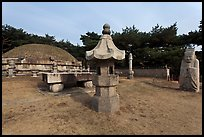 Seolleung of King Seonjong, Samreung Gongwon. Seoul, South Korea (color)