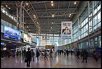 Inside Seoul train station. Seoul, South Korea ( color)
