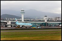Jeju International Airport. Jeju Island, South Korea (color)