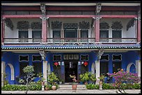 Facade, Cheong Fatt Tze Mansion. George Town, Penang, Malaysia