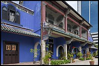 Cheong Fatt Tze Blue Mansion. George Town, Penang, Malaysia