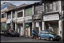 Old Chinatown storehouses. George Town, Penang, Malaysia