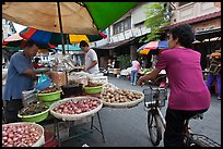 Street market, chinatown. George Town, Penang, Malaysia
