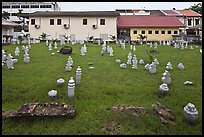 Cemetery of Kampung Kling Mosque. Malacca City, Malaysia