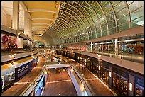 Inside the Shoppes at  Marina Bay Sands. Singapore