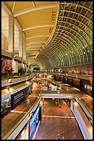 The Shoppes mall, Marina Bay Sands. Singapore