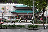 Department store, Orchard Road. Singapore (color)