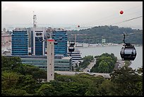 Mount Faber cable car. Singapore ( color)