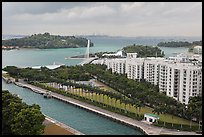 Keppel Bay. Singapore ( color)