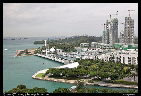 Marina, Keppel Bay. Singapore (color)
